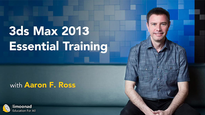 فیلم آموزش 3d max زیرنویس فارسی از لیندا - 3ds Max Essential Training