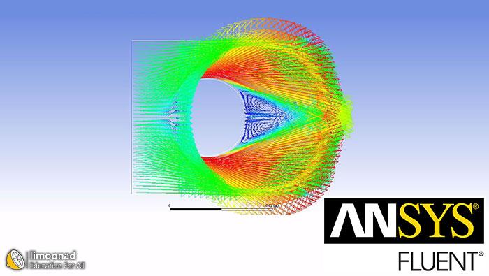 آموزش انسیس فلوئنت - بخش دوم - طراحی جریان خارجی سیال روی سیلندر داغ