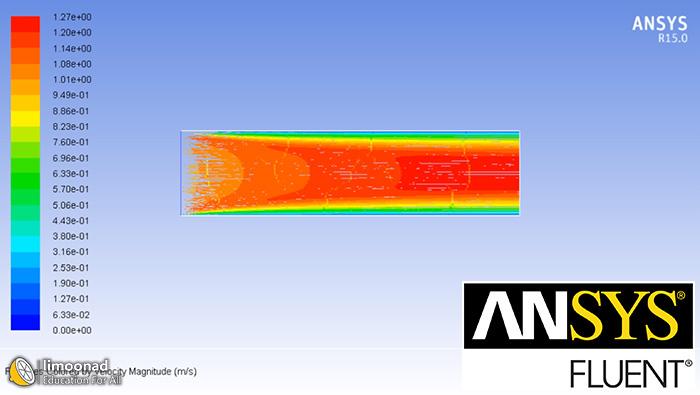 آموزش انسیس فلوئنت - بخش اول- طراحی و ترسیم سیال در کانال با صفحات گرم