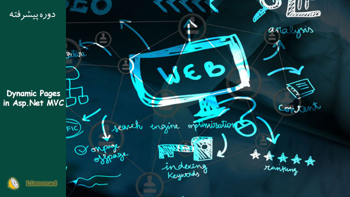 آموزش ویدیویی ساخت صفحه داینامیک در asp.net MVC