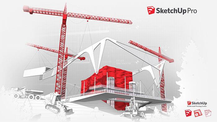آموزش مدلسازی و رندر فضا داخلی و خارجی با Google SketchUP Pro