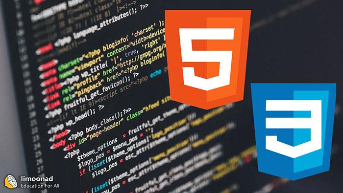 دوره آموزش html و css  به صورت جامع و پروژه محور