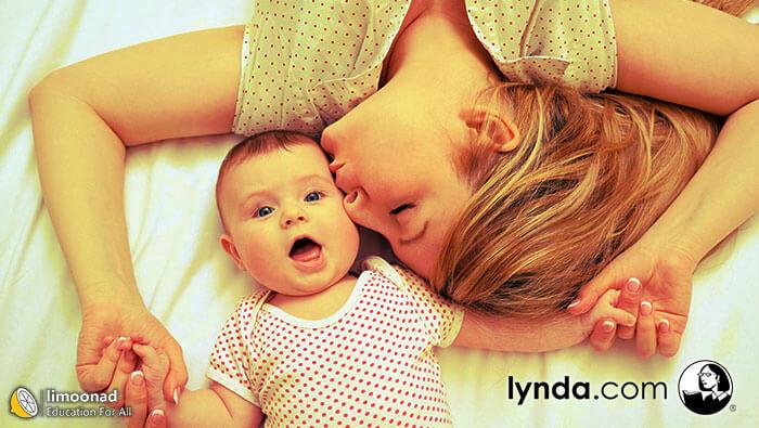 دوره آموزش ویدیویی عکاسی از نوزاد دوبله فارسی از لیندا