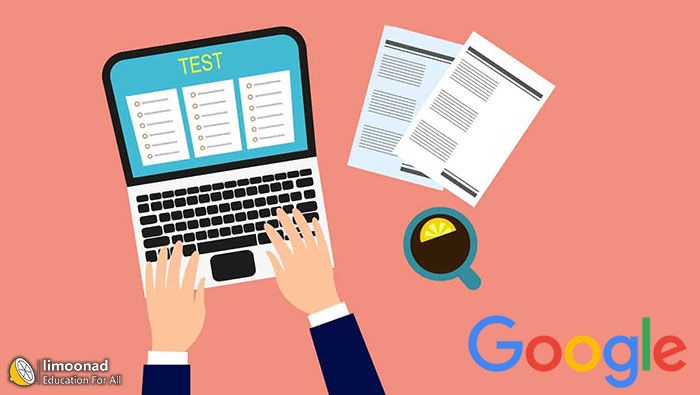 آموزش ساخت آزمون آنلاین (تستی و تشریحی) ازطریق گوگل