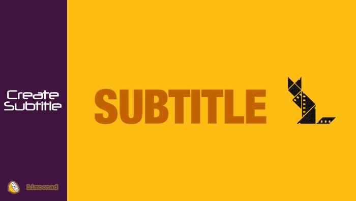 فیلم آموزش ساخت زیر نویس و قرار دادن آن روی ویدیو