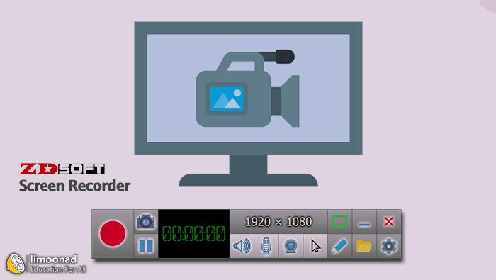 فیلم آموزش فیلم برداری از صفحه با نرم افزار ZD Soft Screen Recorder