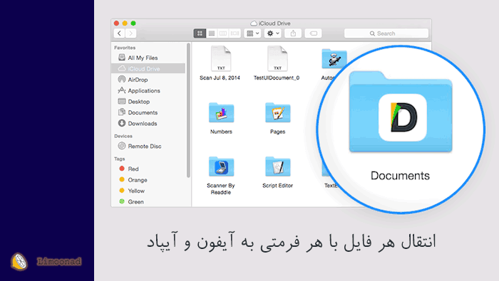 آموزش انتقال فایل با از کامپیوتر به آیفون و آیپاد بدون نیاز به جیلبریک