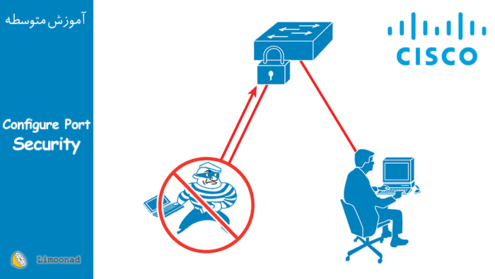 آموزش امنیت شبکه با پیکربندی Port-Security روی سوئیچ سیسکو